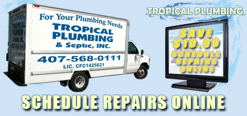 Tropical Plumbing Schedule Repairs Online