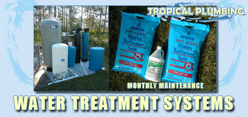 Tropical Plumbing Water Treatment System Maintenenace